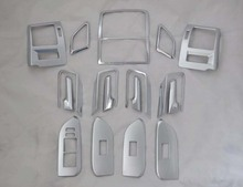 New 17pcs Interior Accessories Dashboard Door Trim Kits For Toyota Prado fj150 2010 2011 2012 2013 2014 2015(China)