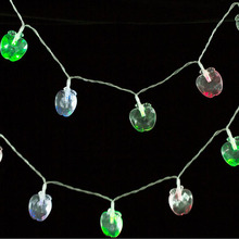 MUQGEW Box Apple Garden Christmas Bulb String  20LED Battery  Event Party Garland decoration Stunning Fairy Lights Holiday