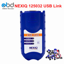 2017 Newly Nexiq 125032 USB Link Auto Heavy Duty Truck Scanner Tool NEXIQ Be Better DPA5 Truck OBD2 Dianostic Scanner Tool(China)