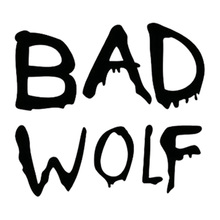 13cm*11.5cm Doctor Who Bad Wolf Fashion Car-Styling Vinyl Stickers Decals Black/Silver S3-4806