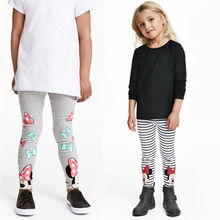 Baby Girls Leggings 2017 New Spring Children Girls Pants Warm  Kids Baby Girls Dress Leggings