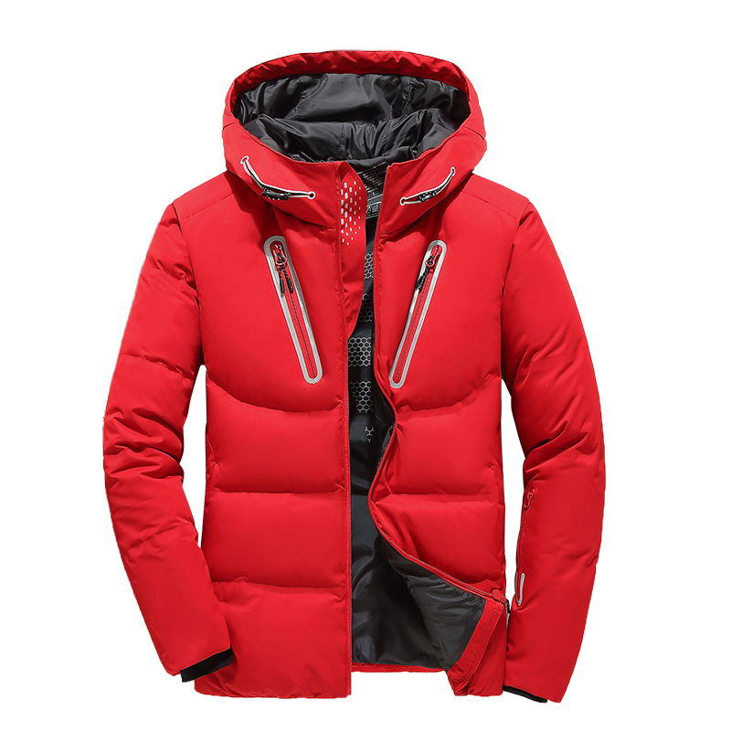 Mens Hooded Duck Down Jackets Man Thick Winter Down Coats Male Fashion Quality Overcoats Warm Parkas Outerwear Snow coat