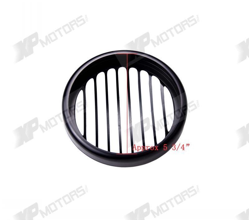 Black Anodized Headlight Grill Cover For Harley Sportster XL883  2004 2005 2006 2007 2008 2009 2010 2011 2012 2013 2014<br>