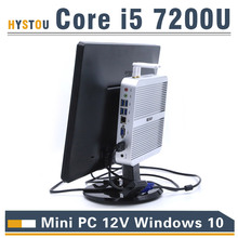 Kaby Lake Core i5 7200U Mini PC Windows i3 7100U HDMI+VGA Mini PC i3 i5 minipc 4K HTPC Intel HD Graphics 620 Micro PC Windows 10(China)