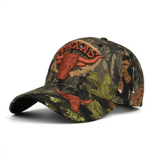 Men's Camouflage Snapback Hats Embroidered Cow Baseball Caps Outdoor Sport adjustable Trucker Casquette