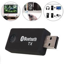 USB Power Bluetooth transmitter 3.5mm JACK/RCA Bluetooth Audio Transmitter Music sound bluetooth sender Adapter For TV MP3 iPod