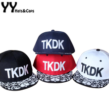 New TKDK Snapback Caps for Kids Boys Baseball Cap Hockey Gorras Planas Outdoor Summer Sun Hats Hip Hop Cap YY17016