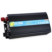 1500W DC 12V to AC 220V Solar Power Inverter Car Automotive Power Converter DHL Free For USA