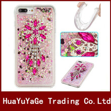 Bling Liquid Glitter Quicksand Star TPU Phone Cases For Apple iphone 4S 5S SE 5C 6 6S Plus 7 Plus ipod touch 5 6