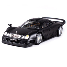 Maisto 1:18 MB CLK GTR Sports Car Diecast Model Car Toy New In Box Free Shipping 36849