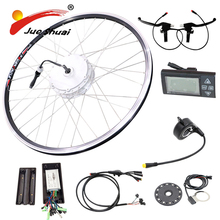 Motor Bicycle Engine Kit Part of Bicycle Electric Bike Conversion Kit LED Display Bike Controller Sensor Throttle Electric(China)