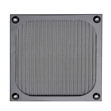 New 120x120mm Computer Mesh Black Stainless Steel PC Case Fan Cooler Dust Filter Dustproof Case Cover Multi-Functional(China)
