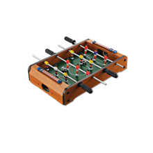 Mini Wooden Room Soccer Table Football Game Manual Interaction Kids Educational Toys(China)