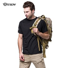 Outdoor T Shirt S-XXXL Men Military Summer T-shirt Outdoor Breathable Quick Dry Fitness Solid Color Brand Clothing Camiseta