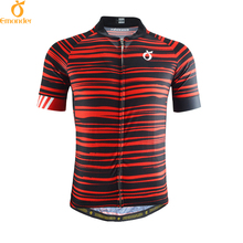 EMONDER 2017 Men Cycling jersey Pro Team Road Bike MTB Short Sleeve Maillot Ciclismo Breathable Italy Antislip Sleeve Cuff