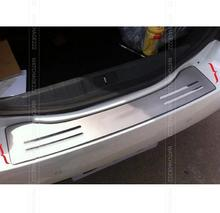 FIT FOR 2011 2012 2013 2014 PEUGEOT 508 REAR BUMPER PROTECTOR STEP PANEL BOOT COVER SILL PLATE TRUNK TRIM ACCESSORIES