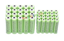 20x AA 3000mAh + 20x AAA 1800mAh 1.2V NiMH Green Color Rechargeable Battery Cell 2A 3A
