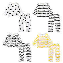 New Year My First Christmas Outfits For Baby Boy Girl Set Family Clothes China Kid Long Sleeve T Shirt+Pant 2PC Boutique Suit