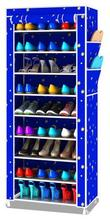 Shoe cabinet shoes racks storage large capacity home furniture DIY simple 9 layers Free shipping