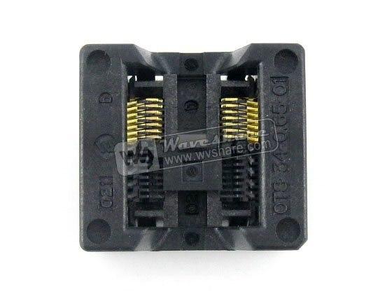 SSOP14 TSSOP14 OTS-14(34)-0.65-01 Enplas IC Test Burn-in Socket Programming Adapter 0.65mm Pitch 5.3mm Width<br>