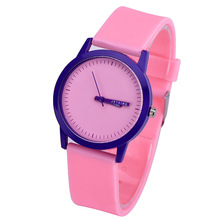 Girls Watch Green Pink  Silicone Strap Ladies Collection Dress Quartz All-match dames horloge drop shiping