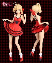 Fate EXTRA Sexy Figure Saber Nero Claudius Red Suit Ver PVC Action Figure Collection Model Toys Doll 26cm christmas gidt