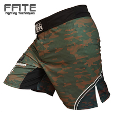 FFITE camo comfortable cheap sotf fight mma trunk shorts muay thai clothing boxing mma short men sport sanda grappling mma pants(China)