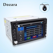 tape recorder 2din car dvd GPS/Radio tuner/MP3/USB/SD/Bluetooth/Stereo/Video Free Map and Camera