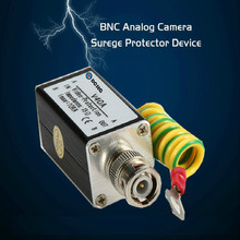 BNC COAX Coaxial Cable CCTV Monitoring Security Camera Monitor Surge Protector Thunder Lightning Arrester Protection Device