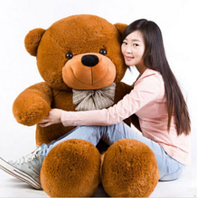 5 colors 180cm giant teddy bear yellow plush toys children cute soft peluches baby doll big stuffed animals large sale(China)