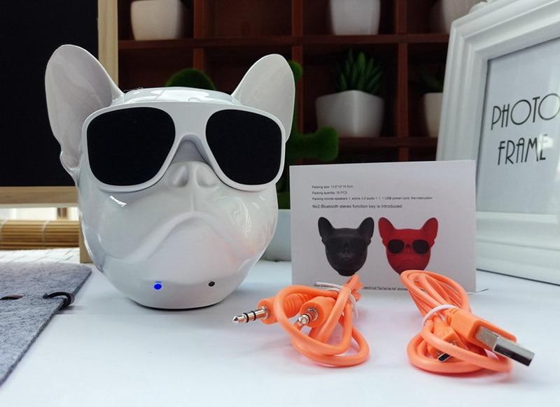 bull dog Nano Wireless Speaker Bulldog Bluetooth Speaker Outdoor Portable HIFI Bass Speaker Multipurpose Touch Control (12)