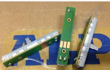 1PCS DJ mixer fader 6 cm single rod sliding potentiometerSwitches B5K 10MM shaft plate<br>