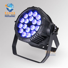 Rasha IP65 Waterproof HEX 18*18W 6in1 RGBAW UV LED Par Light,Outdoor LED Par Light For Stage Party Church Productions