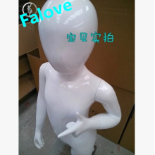 Hot Sales Manequin Child Mannequin High Glossy Fiberglass Full Body Mannequin Fashion Designer Display Mannequins Child