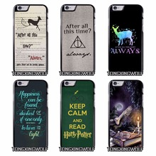 After All This Time Harry potter Cover Case for IPhone 4s 5s se 6s 7 Plus Samsung S5 S6 S7 S8 Edge Note 4 5 Grand Prime Neo duo(China)
