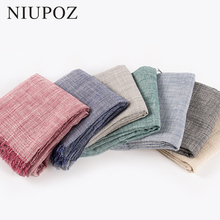 Big Size 100*200cm Unisex Women Winter Cotton Solid Scarf Men Warm Wrinkle Soft Tassel Bufandas Cachecol Long Shawl Pashmina
