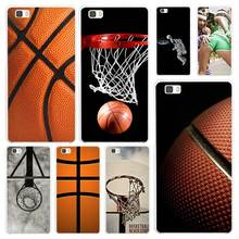 Basketball dark White Coque Shell Case Cover Phone Cases for Huawei P7 P8 P9 P10 Lite Mate s 7 8 9