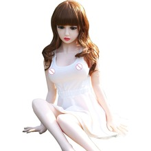 125cm Adult Sex Toy Little Japanese Girl Real Lifelike Sex Doll Full Solid Silicone Love Doll In-built Skeleton C-125-001