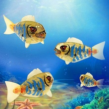 Childen Kids Baby Fish Toys Robotic Pet Activated Battery Powered Robo Bathing Toys Brand New(China)