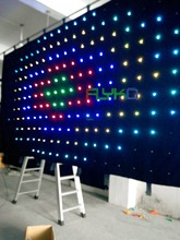 Latest chinese product led curtain on china market of electronic P18