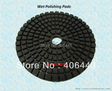 "7"" Soft Diamond Polishing Pads (180mm and Grits# 50 ~ Buff) for Wet Polishing Marble, Granite, Concrete, Ceramic(China)"