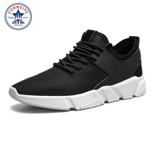 Running Shoes for Men Sneakers Sport Sneaker Cheap Superestrella Zapatos De Hombre Mens Lace-Up Flywire Breathable Low Sale(China)