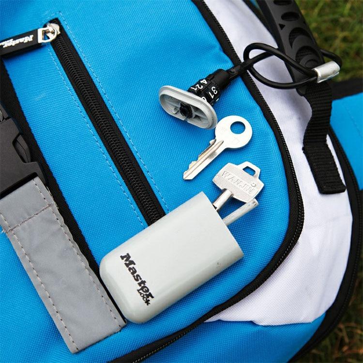 Mini Key Safe Box Outdoor Backpack Hanging Metal Hidden Password Lock Zinc alloy Fixed Code Lock Portable Key Storage Box (1)
