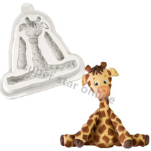 Buttons Giraffe Silicone Mould Cozinha Fondant Cake Molds Cupcake Toppers Chocolate Confeitaria Kitchen Accessories