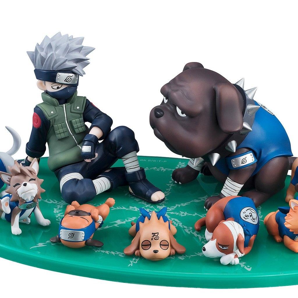 Naruto Shippuden - Kakashi Hatake &amp; Ninja Hounds Set J01<br>