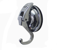 Wall Vacuum Sucker Hook Coat Hooks Wall Suction Traceless Hook Bathroom Hooks(China)