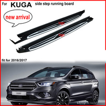 new arrival side step side bar running board foot plate for Ford KUGA Escape 2016 2017 2018. ISO9001 quality,reasonable price.(China)