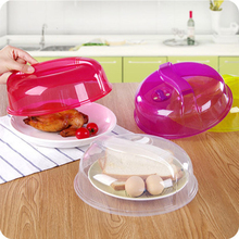 Reusable Plastic Food Cover Microwave Oven Oil Cap Heated Sealed Cover Multifunctional Dish Dishes Dust Cover 8A0013(China)