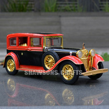 DIECAST 1:32 ALLOY MODEL TOYS SOUND LIGHT PULL BACK VINTAGE CLASSIC ROLLS ROYCE(China)