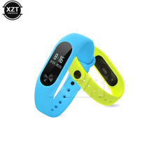 Colorful Wrist Strap Belt Silicone Wristband for Mi Band 2 Smart Bracelet for Xiaomi Band 2 Accessories(China)